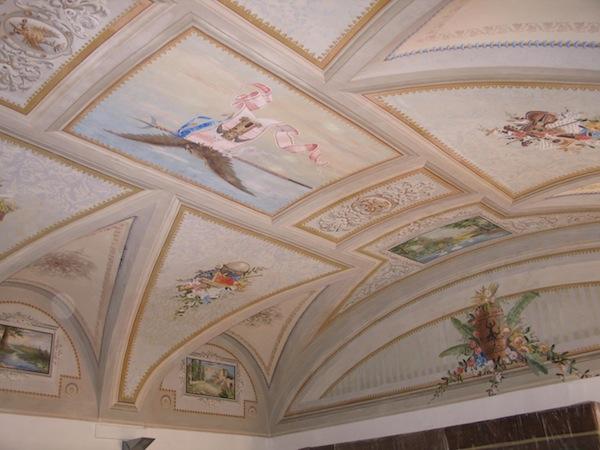 Soffitti decorati cheap soffitto decorato with soffitti decorati perfect decorazioni soffitto - Soffitti decorati ...